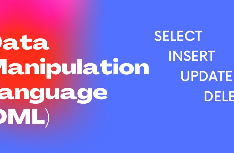 Data Manipulation Language – Veri İşleme Dili